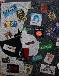 This was a wonderful t-shirt quilt!
