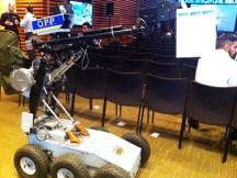robot for bomb threats