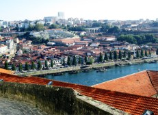 Overlooking Gaia across the Douro River