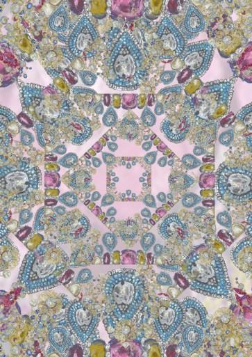 Jewellery scarf pattern
