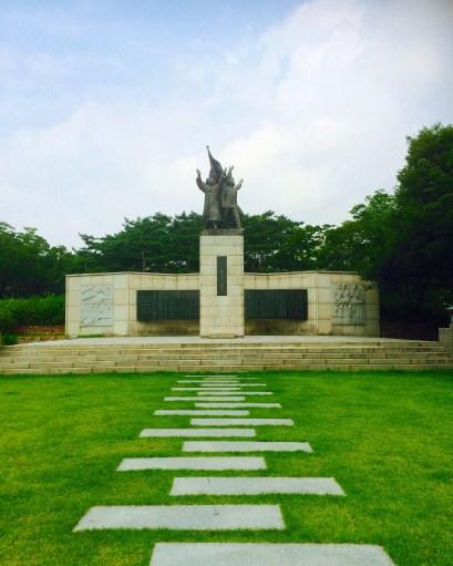 Independence Park in Dongnnimun.