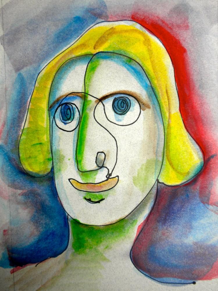 100 Faces: A Quick Sketch Project (2/6)