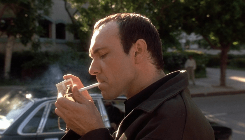The Usual Suspects (1995) - Kevin Spacey. Directed by Bryan Singer