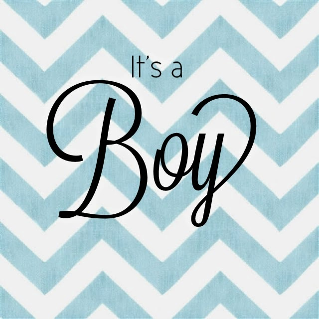 Free It's A Boy Announcement