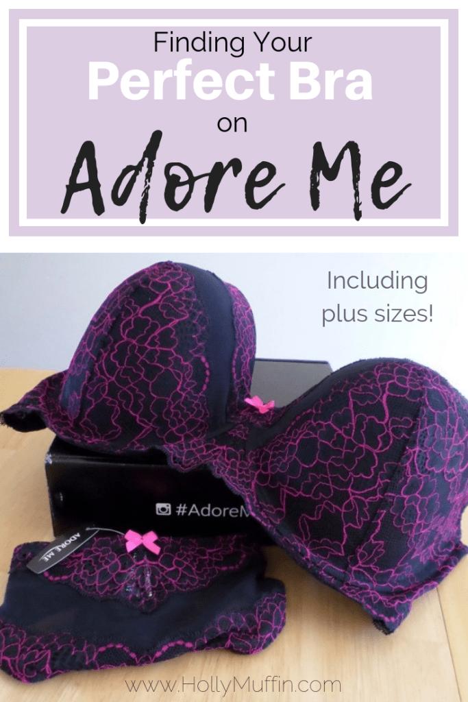 Finding your perfect bra (including plus sizes) on AdoreMe! #AdoreMe #PlusSizeFashion