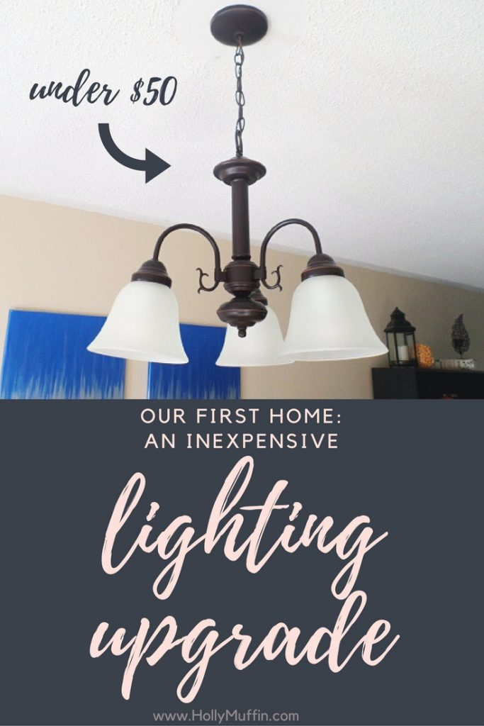The most inexpensive lighting upgrade. I'm obsessed!