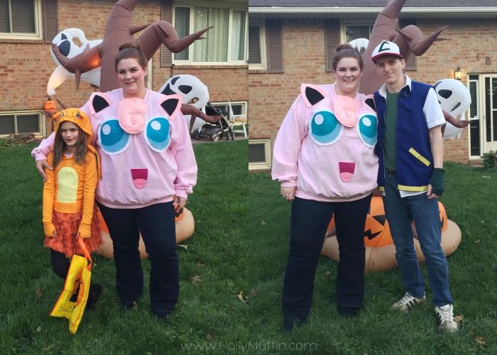 Family pokemon costume