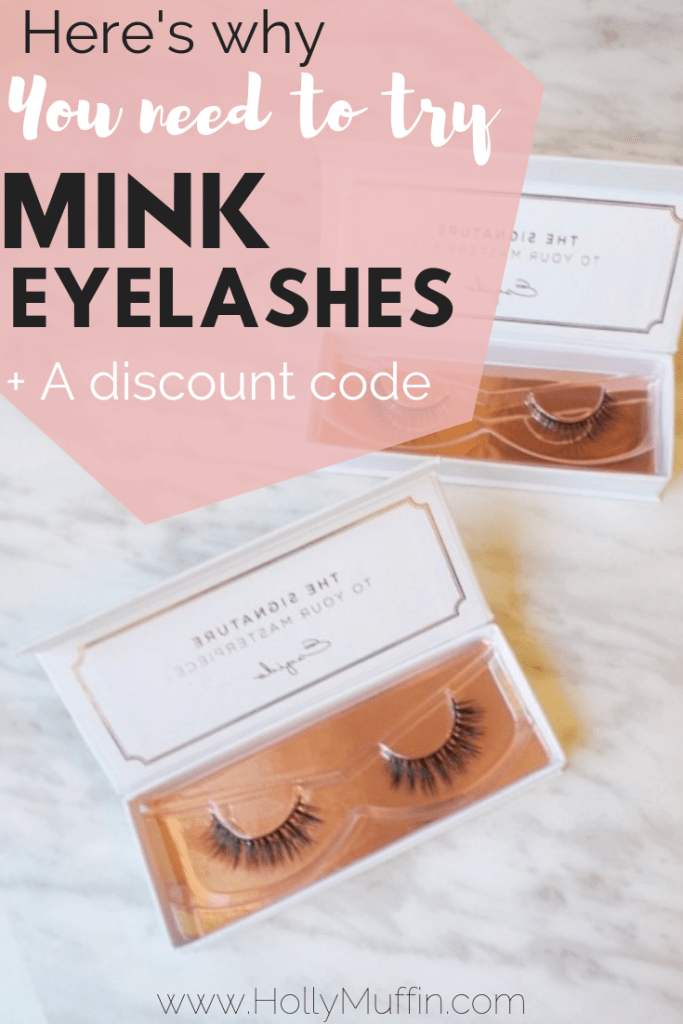 Here's why you need to try mink eyelashes! Plus, a discount code for Esqido. #lashes #beauty