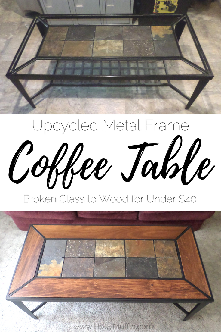 Mix · Upcycled Metal Frame Coffee Table