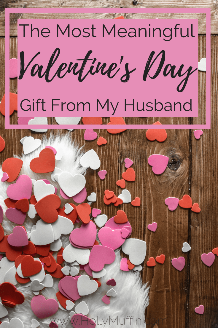 The most meaningful gift from my husband is something all parents can appreciate. #ValentinesDay #Marriage