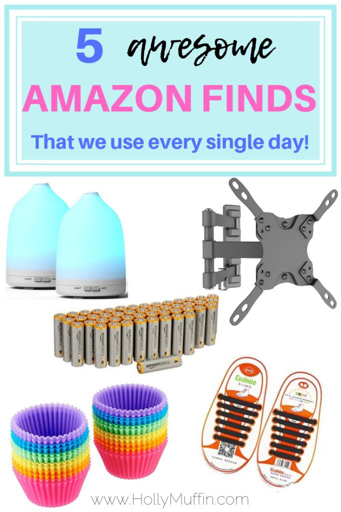 5 awesome Amazon finds. We use them every single day! #Amazon #AmazonFinds