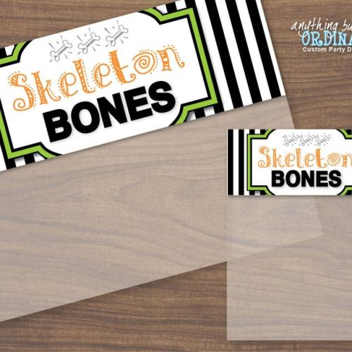 skeleton bones printable