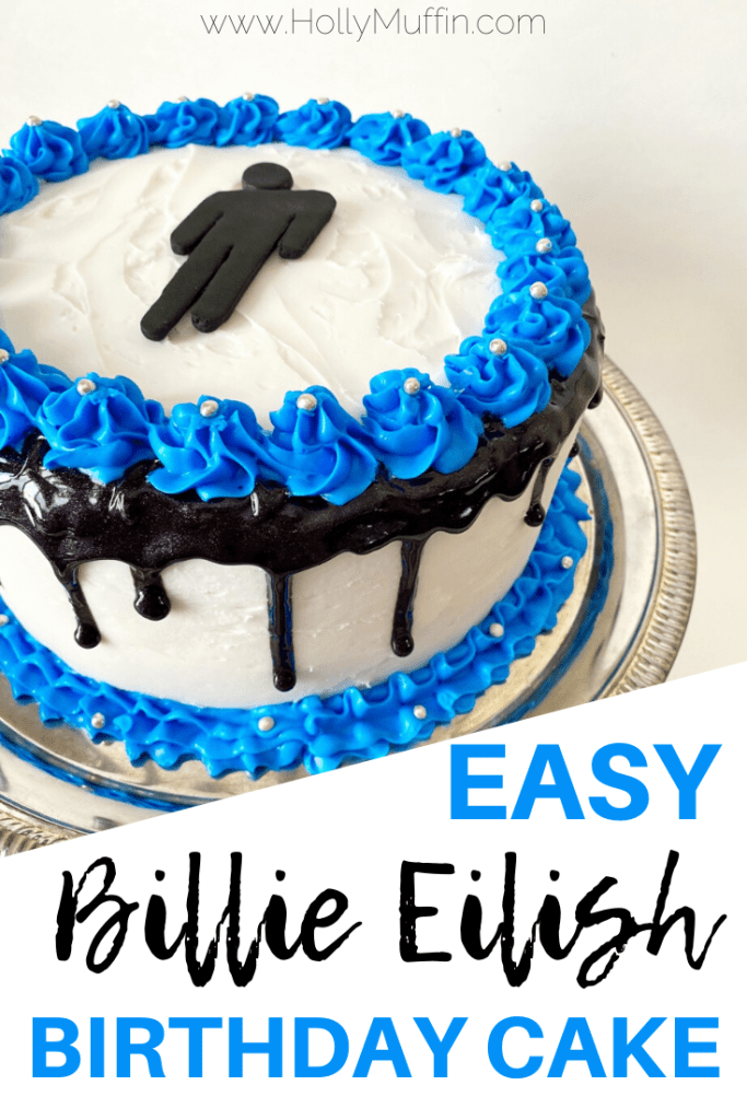 Easy Billie Eilish Birthday Cake