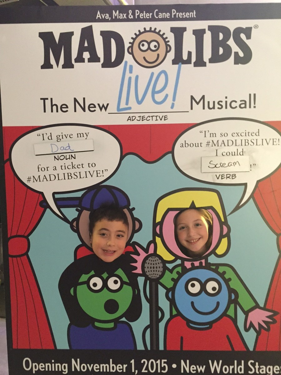 Mad Libs Live! Review Originally Posted on Mommy Effect