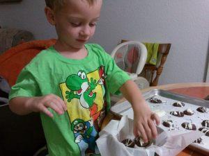 Cozinhando com crianças | Holly's Bird Nest 5