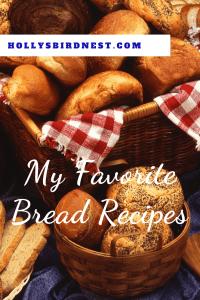 Minhas receitas favoritas de pão |  Holly's Bird Nest 9