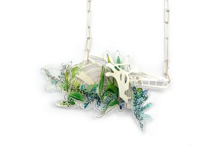 Kew Gardens Palm House Neckpiece 2 - £695
