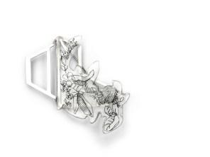 Miniature Glasshouse Brooch - £230