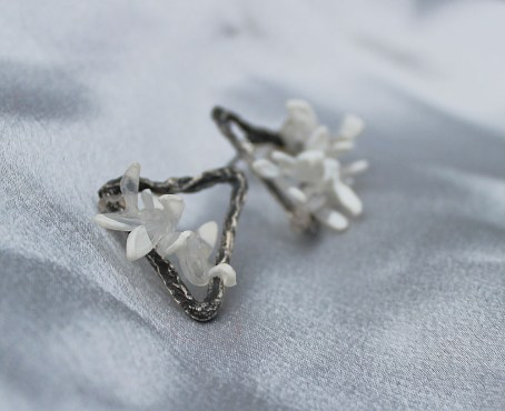 oxidised-silver-textured-triangle-earrings-2