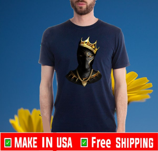 Black Panther King Of Wakanda Shirts