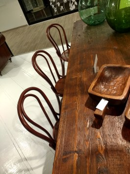 Iconic Thonet bentwood chairs, made in Europe! Coming soon!