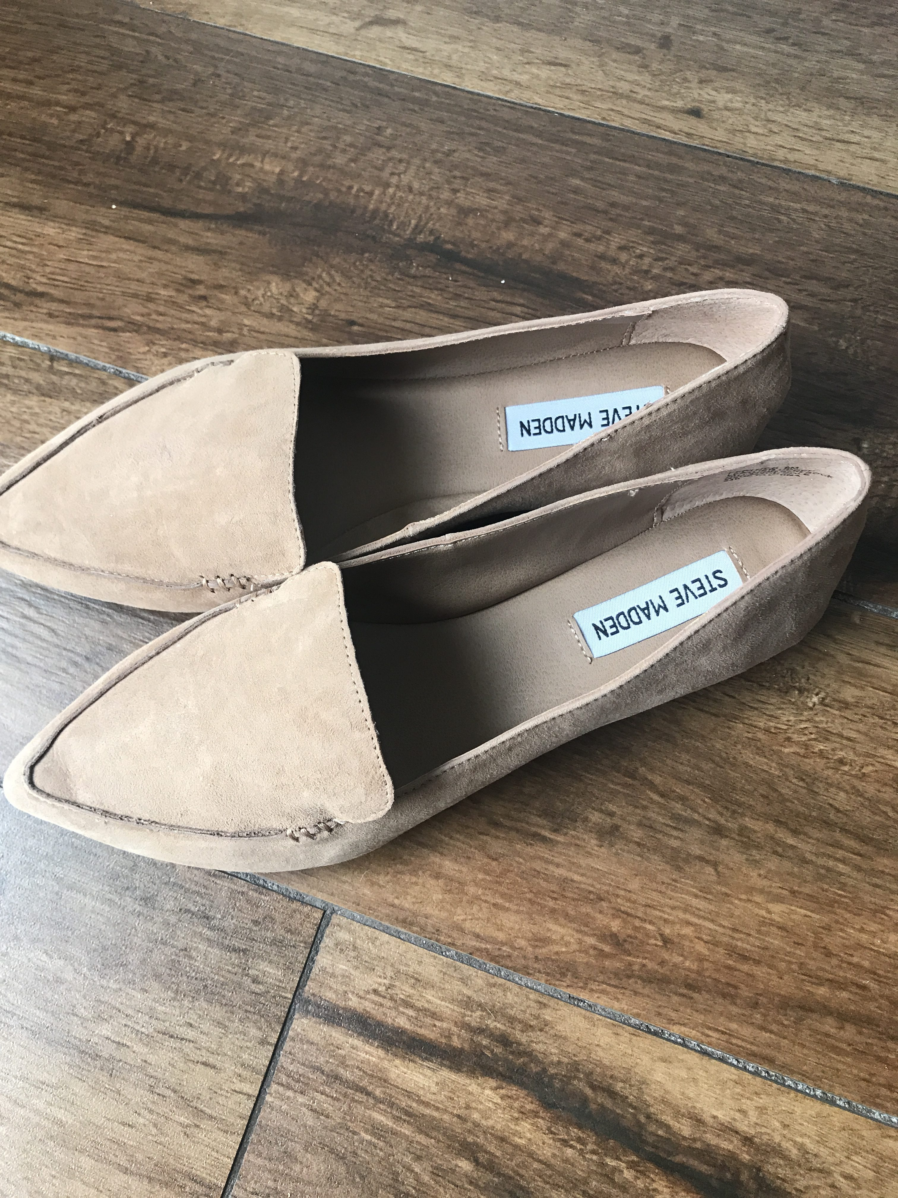 52ccd3acfcb Steve Madden Feather Loafer in Camel