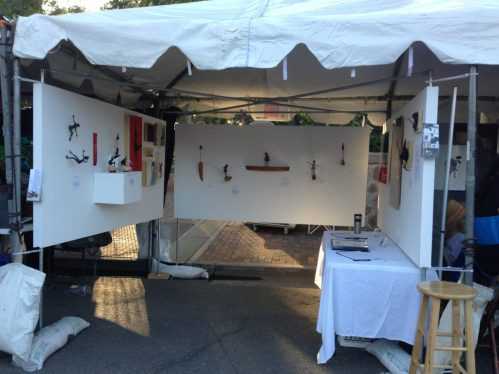 Holly Wilson-SWAIA 2013-Booth view 1