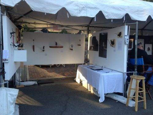 Holly Wilson-SWAIA 2013-Booth view 2
