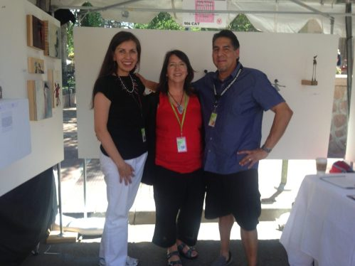 Holly Wilson-SWAIA 2013-With Shan Goshorn and Brent Greenwood