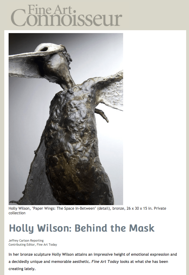 Fine Art Connoisseur-Holly Wilson-Behind the Mask