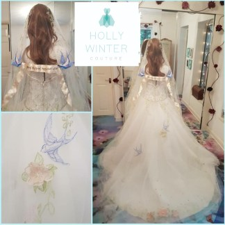 Happily Ever After veil by Holly Winter Couture
