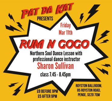 how to dance northern soul