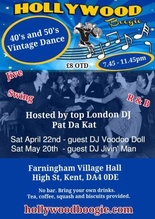 swing dance Farningham, Kent DA4 0DH