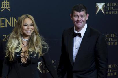 Mariah Carey James Packer Weeding Photos 2016