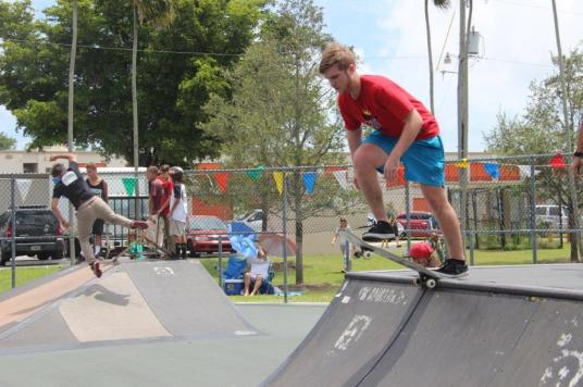 skateoff3 Hollywood hosts 2016 Stan Goldman Park skate-off