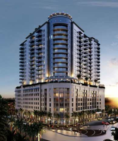 01 Hollywood moves forward with 19-story Young Circle Commons development