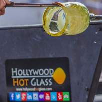 hotglass4 Hollywood Lakes resident shares love of glassblowing with the community