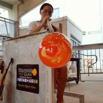 hotglass7 Hollywood Lakes resident shares love of glassblowing with the community
