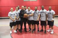 copsvskids4 Friendly game of hoops builds bonds between police, students