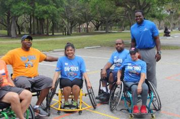 IMG_2977 Adaptive Sports program offers recreation for disabled