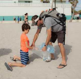20170211-IMG_0479 12-year-old leads Earth Day clean-up efforts on Hollywood Beach on April 22