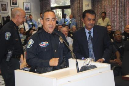 IMG_3540-541x360 Hollywood Police Officer Dwayne Chung receives prestigious Diamond Service Award