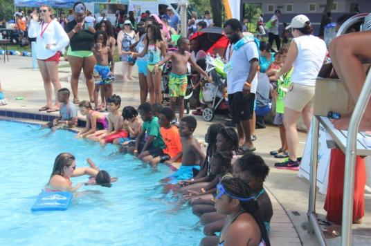 IMG_4222 First-time event at TY Park teaches children basics of water safety