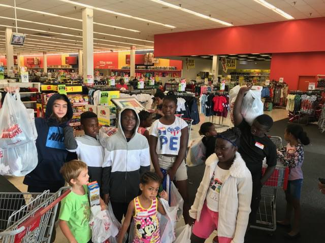 20621215_1366537960132922_2488386024120458829_n Hollywood Jaycees assist kids in need with Back-To-School Shopping Spree