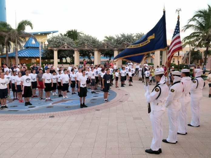 5k run/walk on hollywood beach to benefit sea cadets and wounded warrior project oct. 14