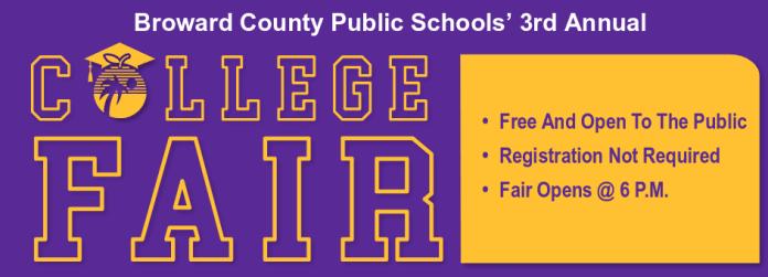 Broward county public schools to host 3rd annual college fair
