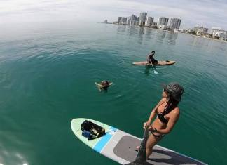 Pilot program to add space for paddle boarding on hollywood beach