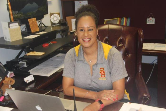Patricia brown is the new south broward high school principal
