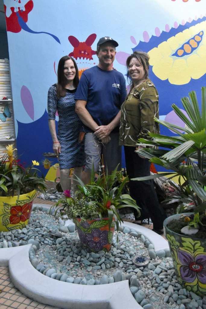 Ridge and Sherry Lyn Crewss with Joy Satterlee