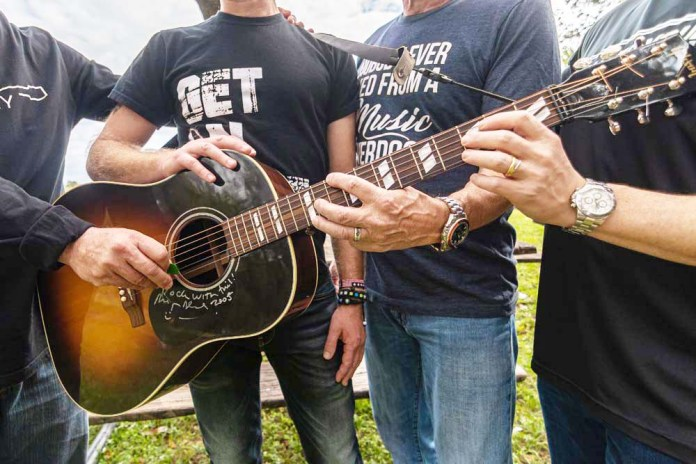 Recovery unplugged provides hope and healing for people affected by addiction using the power of music